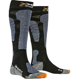 X-Socks Carve Silver 4.0 Sukat, black/blue melange
